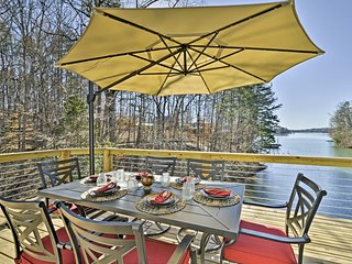NEW! 'Savasana' 3BR West Union Home on Lake Keowee