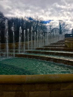 Alnwick gardens are a 20 minute drive away