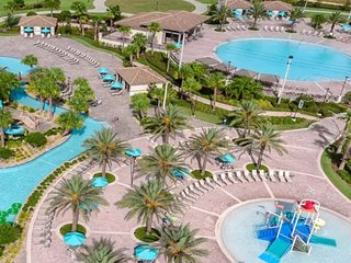 ♥ (9093) Orlando ChampionsGate Disney, Golf 8BR/5BA Vacation