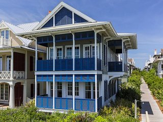 Sydney's Cottage & Carriage House - New Gulf Front Rental in Rosemary Beach!!