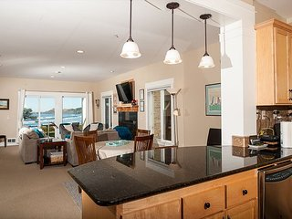 Experience luxury in this groundfloor oceanfront condo in Newport!