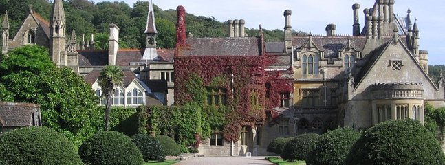 National Trust - Tyntesfield House. A real gem! 25 mins easy drive.