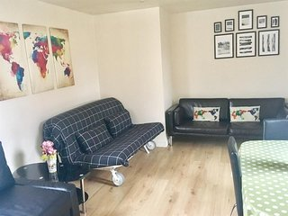 Apartment in London with Internet, Lift, Terrace, Washing machine (679843)