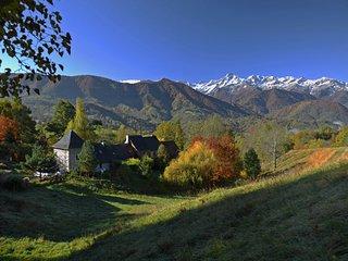Un petit coin de paradis  avec vue panoramique sur le Mont Valier 2838 m