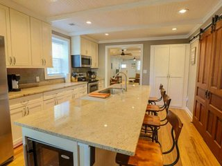 Newly renovated house with gourmet kitchen; great home base to launch your Charl