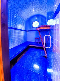 Private Steam Room in Master Bedroom