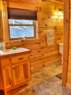 Bedroom #3 with En Suite Bathroom w/Tub/Shower