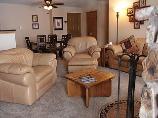 BV104DD Nice Condo with Elevator, Wifi, Wood Fireplace, Clubhouse access