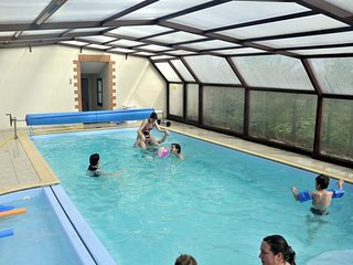 Gite 'Mesange' - proche de la mer avec piscine couverte et chauffee