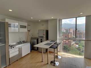 confortable estudio con vistas y WiFi- comfortable studio with views and WiFi
