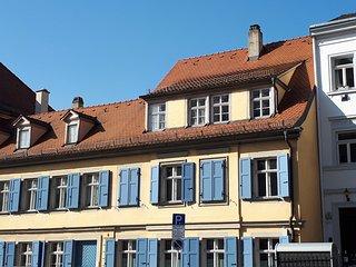 Ferienwohnung Holzmarkt Bamberg: Relax In Style. Ruhig, zentral, reizvoll.