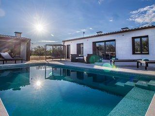 Villa Ses Nines, piscina y naturaleza