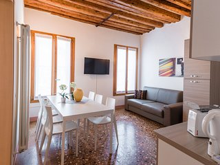 648 m from the center of Venice with Internet, Air conditioning, Washing machine