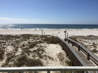 Cozy Gulf Front Second Floor 2br/2ba Beach Condo -- So Close to the Sand!!