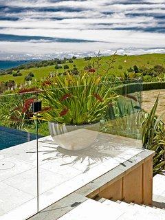 Overlooking Te Muri Regional Park