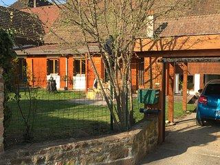 Un petit coin d'Alsace sur la route des vins