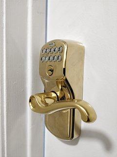 Automated lock on all doors