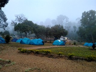 Coffee Plantation Homestay , Camp site - Tent 3  - sharing 6 persons
