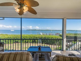 Captiva Shores 1A- Waterfront Townhome