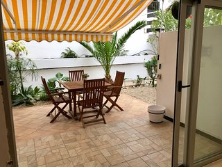 Garden/sunny 2 bed apartment in Pùerto de la Cruz all new
