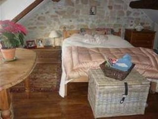 Double bedroom with extra single camp bed if needed