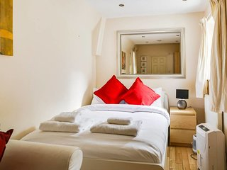 Cute 1bed, sleeps 4 in West Kensington w/garden