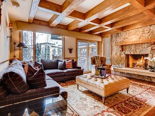 Charming Vail home near Gore Creek with hot tub - Brookview at Village Center