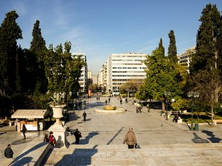 Athens' heart apartment at Syntagma metro stop