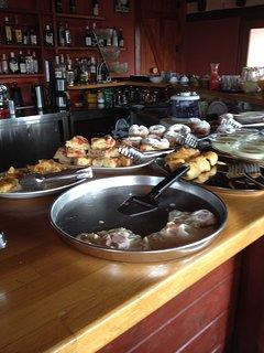 breakfast in estate kares
