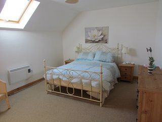 Two bedroomed holiday home located a short walk to the village.