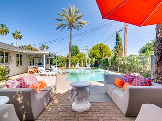 Modern Oasis in Old Town Scottsdale Mid Century w/Pool, Sleeps 13!