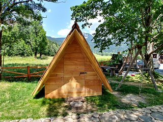 Glamping & Hostel Stara Pošta - Glamping Tent with Mountain View 5-5