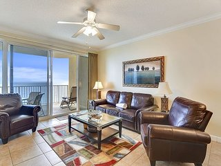 Book this elegant Gulf Front condo w/private balcony for your PCB vacation!!