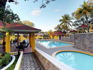 NEW LISTING! Cozy resort suite with shared pool near the beach, dining, & more!