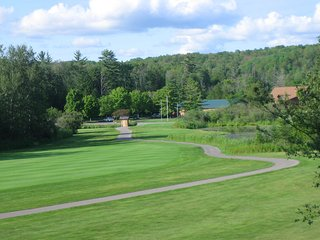 'The Lookout'  Great condo with view of Schuss #1 fairway