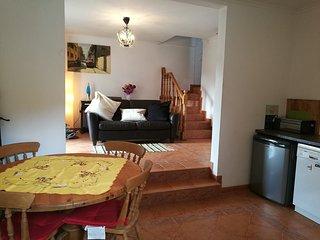 Split level kitchen lounge, leading to Outdoor kitchen & Sun terrace