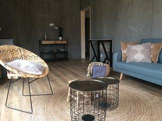 Ecolodges, maisons de vacances , service hotelier , unique en Balagne