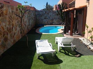 Meu Lar, casa con piscina privada en Corralejo