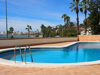 WATERFRONTMALAGA Morlaco,sunny,wifi,sat-tv,air-cond,GARAGE,1ST LINE beach