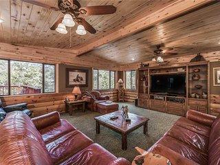 Buffalo Lodge, 7 Bedrooms, Hot Tub, Pool Table, Shuffleboard, Sleeps 16 - Cabin
