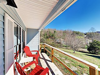 Charming 3BR Near Downtown Asheville w/ 2-Acre Private Yard