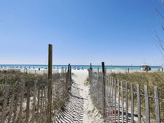 Sand, Sun and SANITARY when you stay in this gorgeous Gulf front condo!!