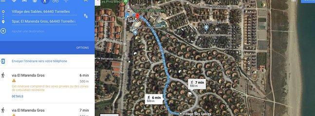 5 min walk to grocery stores. Wine, Bar, restaurant, Taboco, Press, Fruits & Vege, Bakery...