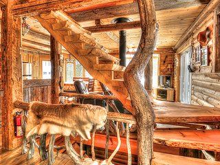 Le Ti Moose 6 personnes lac privé et pied de montagne - Les Chalets Spa Canada