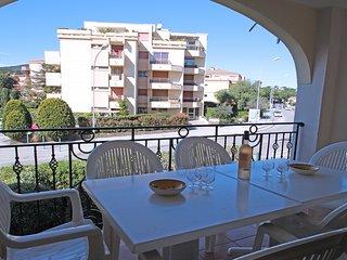 Bel appt 6/8 pers piscine, clim, wifi / centre ville et plage - Ste Maxime
