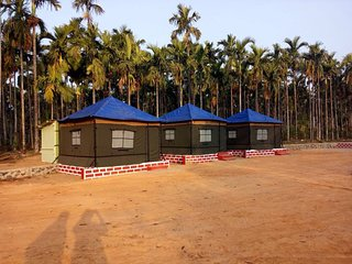 Riverside Jungle Resort with Tent Camps - tent 4