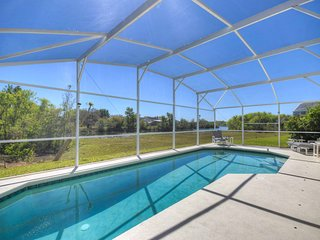 Pool with view of Pinewood Lake - very private and quiet