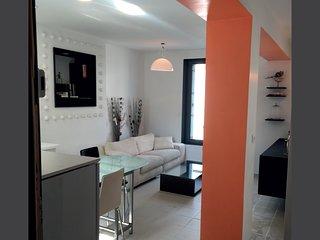 Appartement spacieux décorées avec charme et simplicité,  située dans un quar