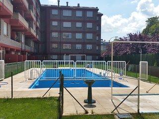 bonito apartamento con piscina