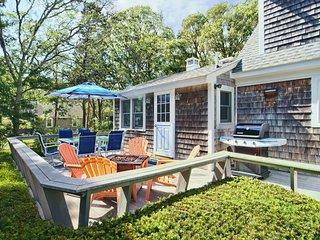 #606: GAME ROOM! Large backyard w/deck. 10-min walk to Nantucket Sound!